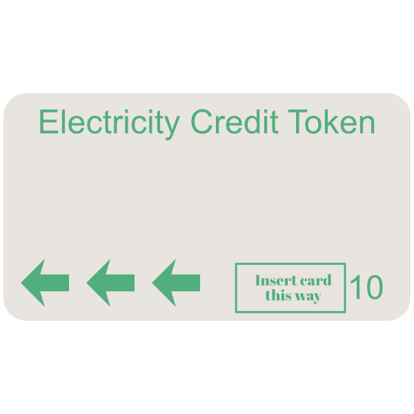 electricity token green