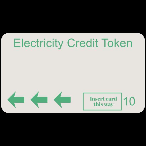 electricity token green